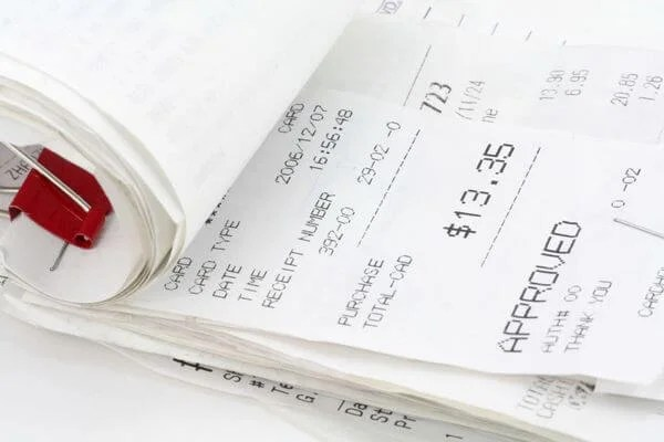 How To Organize Credit Card Receipts