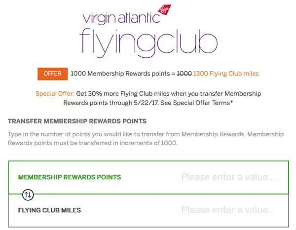 Credit Card Updates: 50,000 Miles Virgin Atlantic & 75,000 AMEX Business Gold(With Lower Spending [EXPIRED]