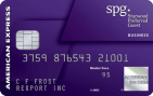 Starwood Preferred Guest® Business Credit Card from American Express