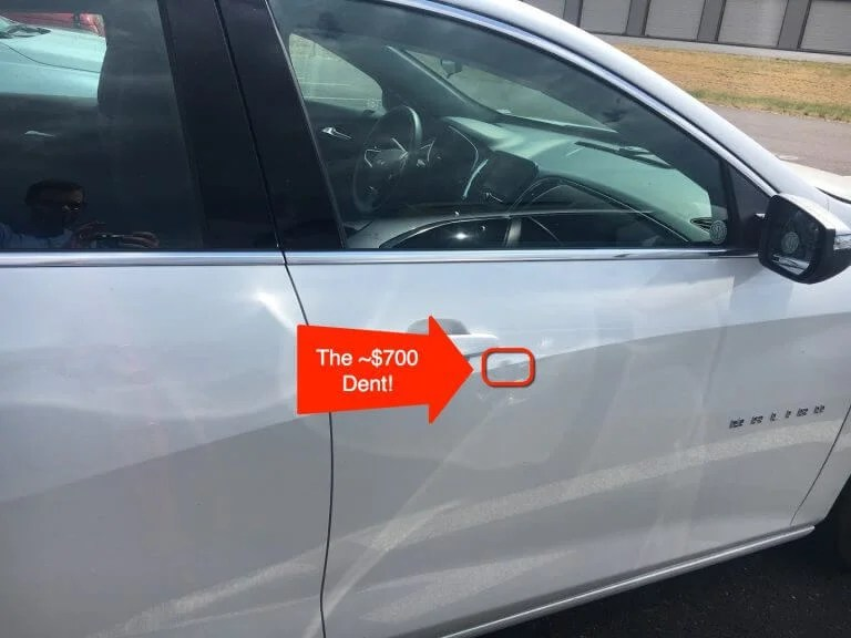 Dinged! $692 for a Tiny Rental Car Dent…How I Escaped This Outrageous Charge