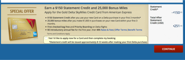 Different And Maybe Better Offer For The AMEX Delta Gold Credit Card