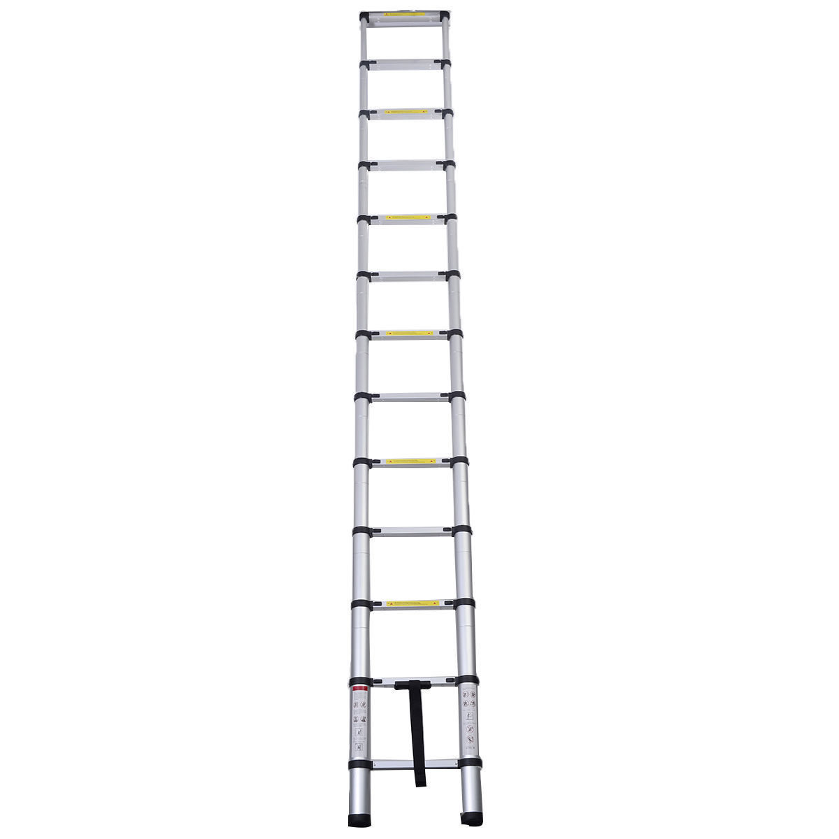 16 5 Ft Telescopic Telescoping Aluminum Extension Ladder A
