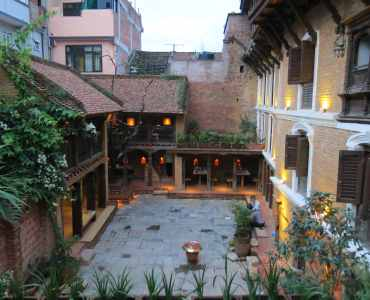 Inn at Patan, Kathmandu, Nepal - Millis Potter