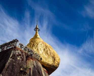 Golden Rock, Burma | Tailor-made tours to Burma | Mills Potter