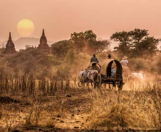 Bagan Burma - Luxury Holidays to Burma - Millis Potter Travel