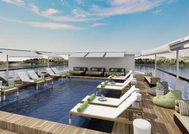 Myanmar - The Strand Cruise - Pool