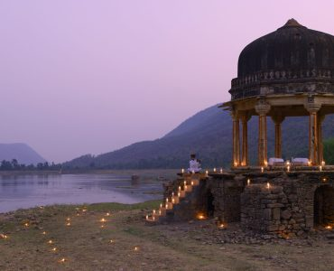 AmanBagh Dinner at Small Chhatri Honeymoon