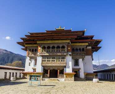 Gangtey Goennpa Monastery, Bhutan
