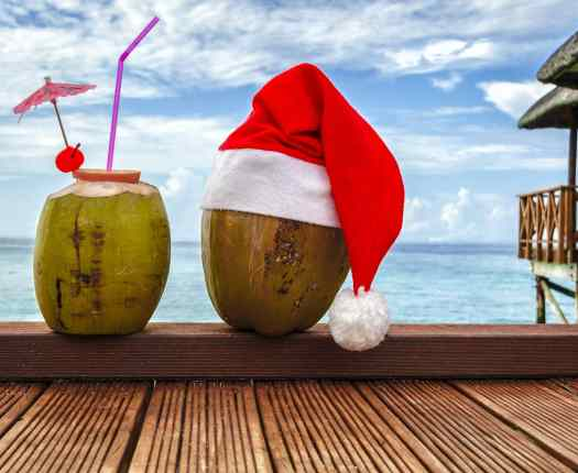Christmas in the Maldives