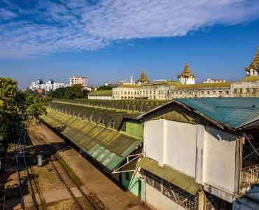 Yangon Circular Train, Burma - Tours to Burma