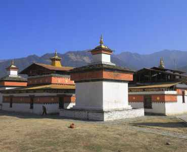 The Jambay Lhakhang is a temple and located in Bumthang (Jakar) in Bhutan