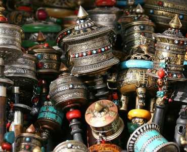 Market, Bhutan, Nepal