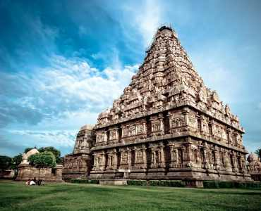 Tamil Nadu - an ancient hindu temple in southern india