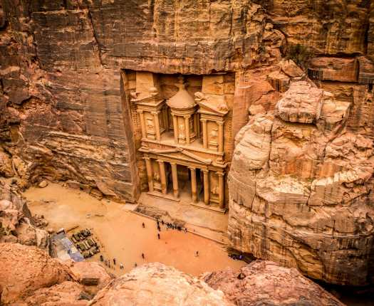 Luxury Jordan Holidays - Treasury at Petra in Jordan