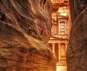 Luxury Jordan Holidays - Siq at Petra in Jordan - Classic Jordan