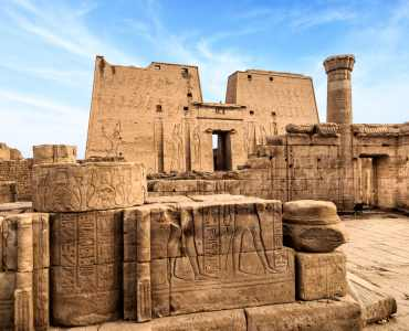 Temple of Horus at Edfu - Egypt & Jordan Tour