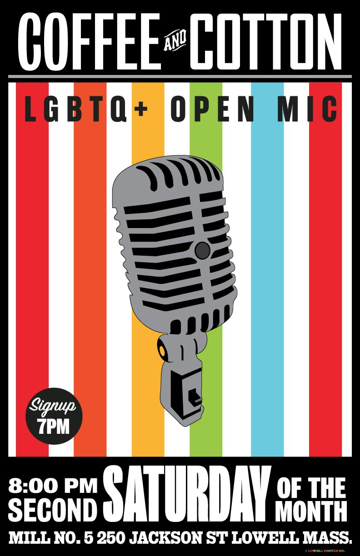 LGBTQ+ Open Mic