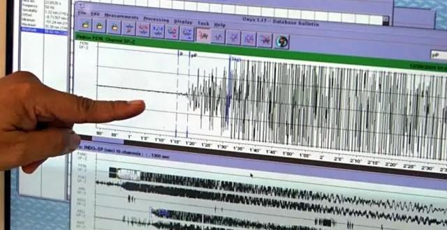 Revelan que en el país se registran de tres a cinco sismos diarios