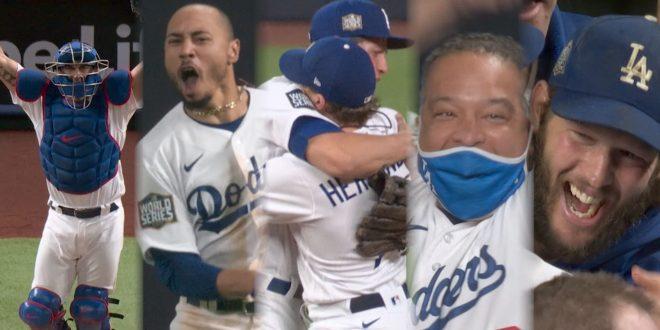 ¡Dodgers conquistan 1er título en 32 años!