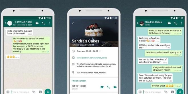 Algunas funciones de WhatsApp Business serán de pago para empresas