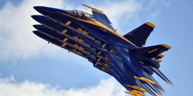 """Los """"Blue Angels"""" suspenden exhibiciones aéreas en Florida por la covid-19"""