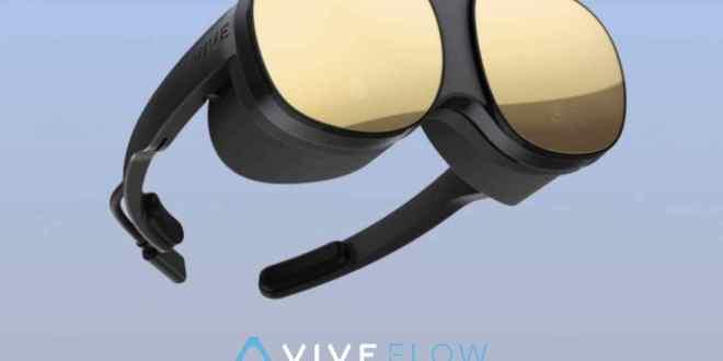 Así es el nuevo Vive Flow HTC, el dispositivo de Realidad Virtual de HTC para particulares