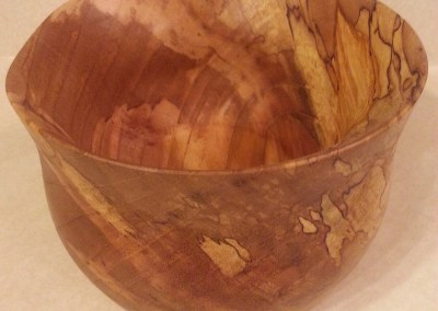 Spalted Wooden Bowl