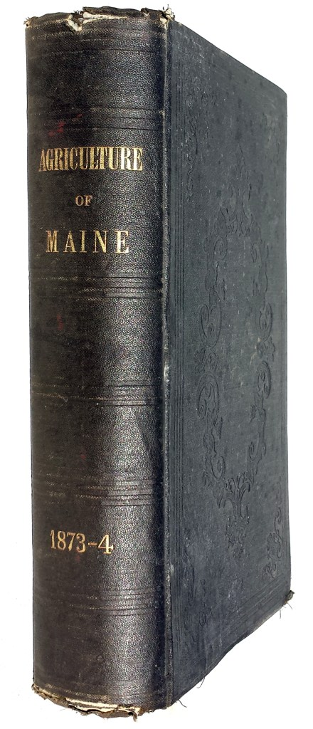 Agriculture of Maine 1874