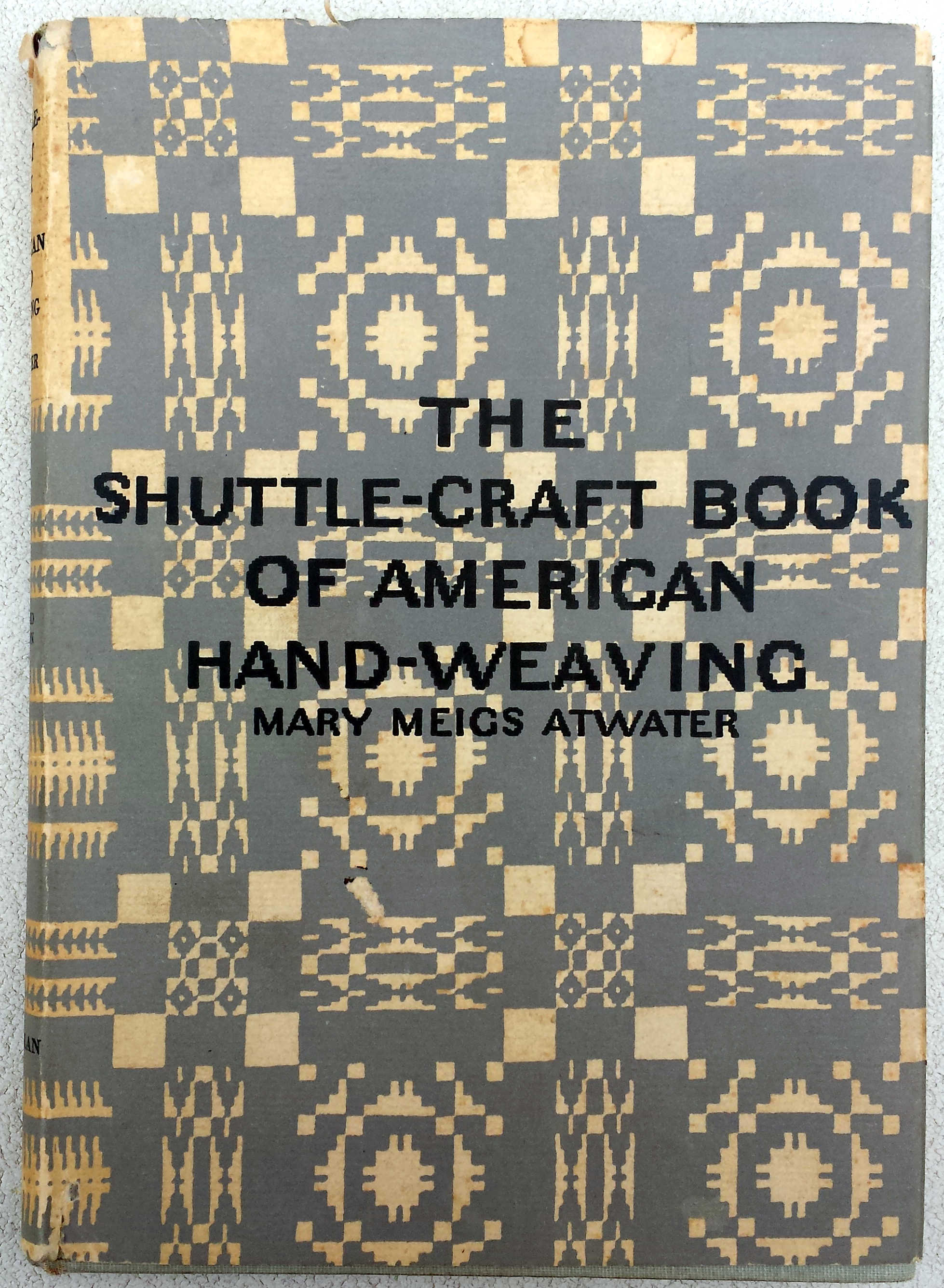 Atwater (1959) American Hand-Weaving - Crafts Draughts Loom Patterns Early