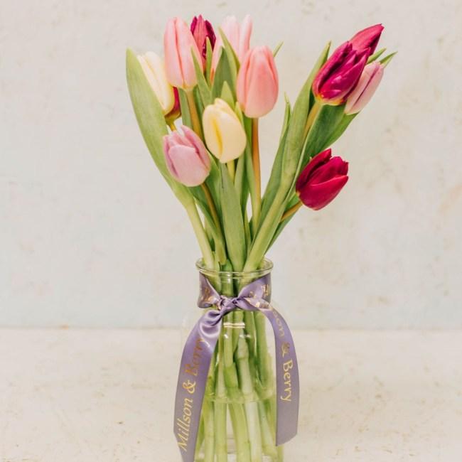 seasonal tulips
