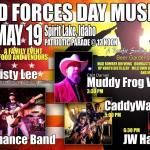 Armed Forces Day celebration in Spirit Lake