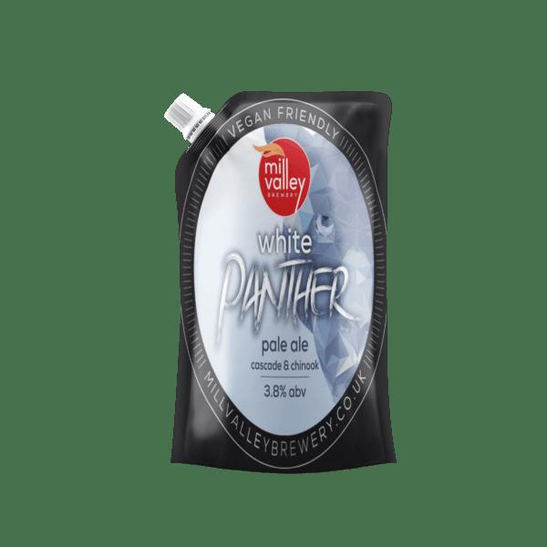 White Panther Bag
