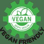 100% Vegan Friendly
