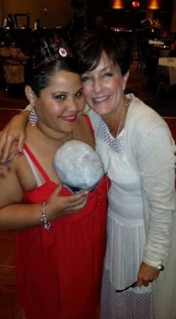 With Robyn Peterman-Zahn