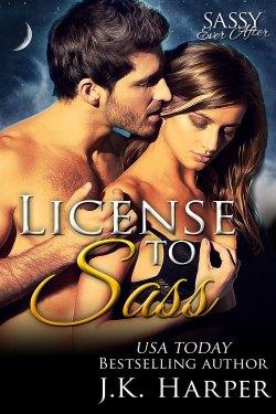 License to Sass by J.K. Harper