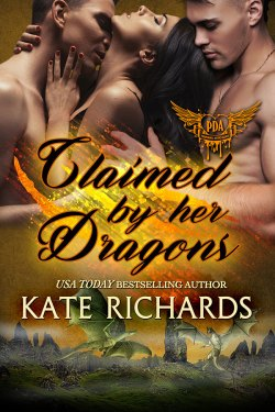 Claimed by Her Dragons by Kate Richards