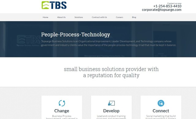 www.topsarge.com-Website Design Design