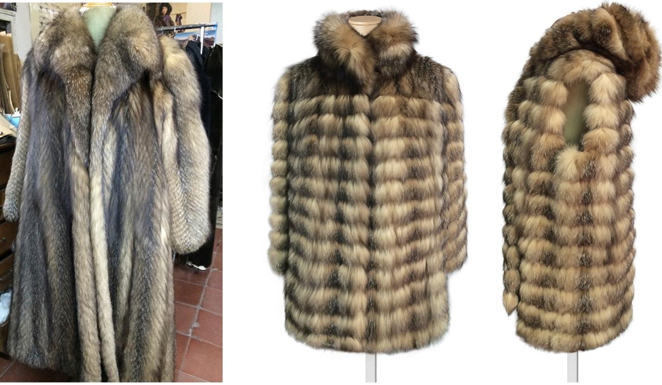 abrigo de piel matural madrid