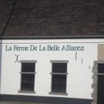 Hougoumont visit - La Belle Alliance