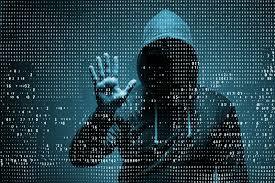 Hooded Hacker - Cyberwarfare