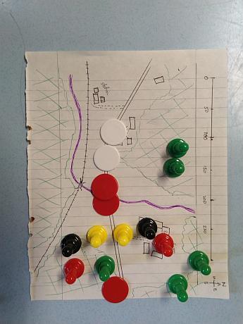 The Battle of Mitdskogen, Norwegian Plan