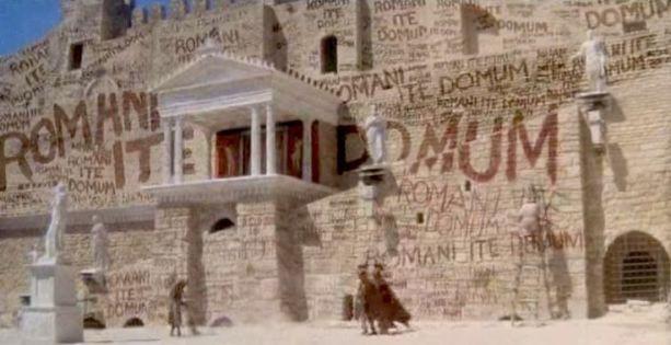 Romanes Eunt Domus? or Romani Ite Domum? Brighten up a rainy day ... | Monty python, Terry gilliam, Terry jones