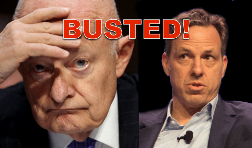 James Clapper leaked classified information to CNN's Jake Tapper and lied about