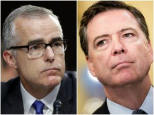 James Comey Defended Andrew McCabe On Numerous Occasions