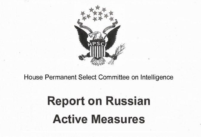 NO COLLUSION House Intelligence Committee releases report on Trump Russia allegations