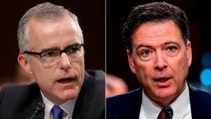 DOJ Internal Watchdog report will be damning for Comey and McCabe
