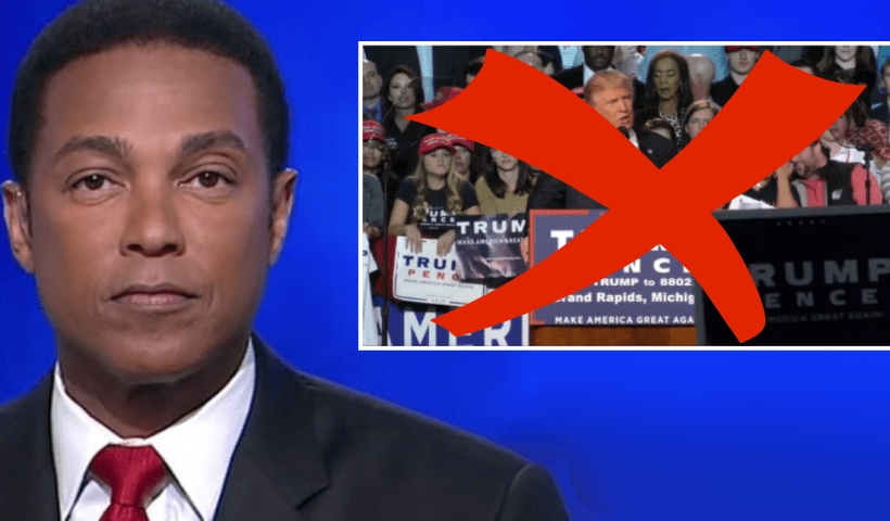 Don Lemon reveals CNN will limit airing Trump 2020 rallies