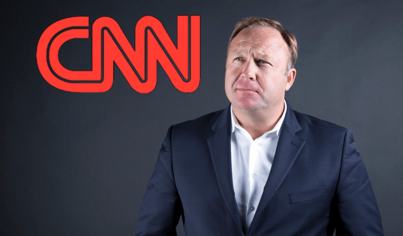 CNN Is Obsessed With Silencing Alex Jones