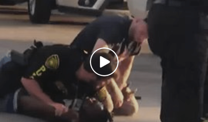 Female security guard fired after just standing there filming while officer pleads for help
