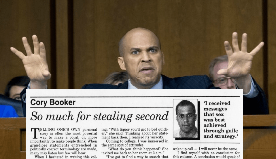 "Cory Booker Happily Bragged About Fondling Girl After She ""Pushed Away"" His Hand"